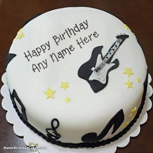 Cake Images With Name Abhishek : Birthday Cakes With Name HBD Cake Pinterest Birthday ...