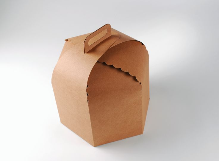 Caja para tartas hexagonal - SelfPackaging