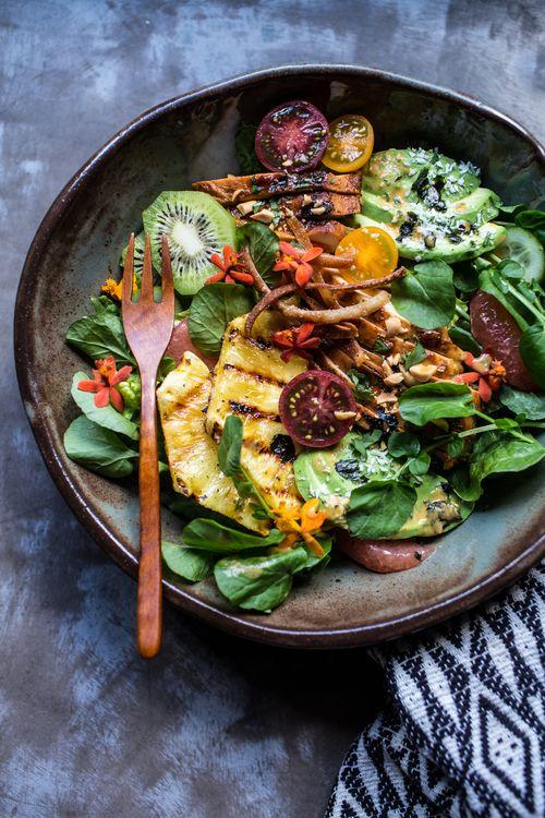 Hawain Tequila Chicken Salad With Pineapple Vinaigrette