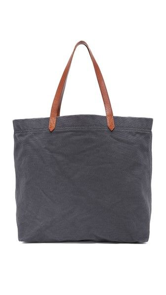 MADEWELL Canvas Transport Tote. #madewell #bags #shoulder bags #hand bags #canvas #leather #tote #
