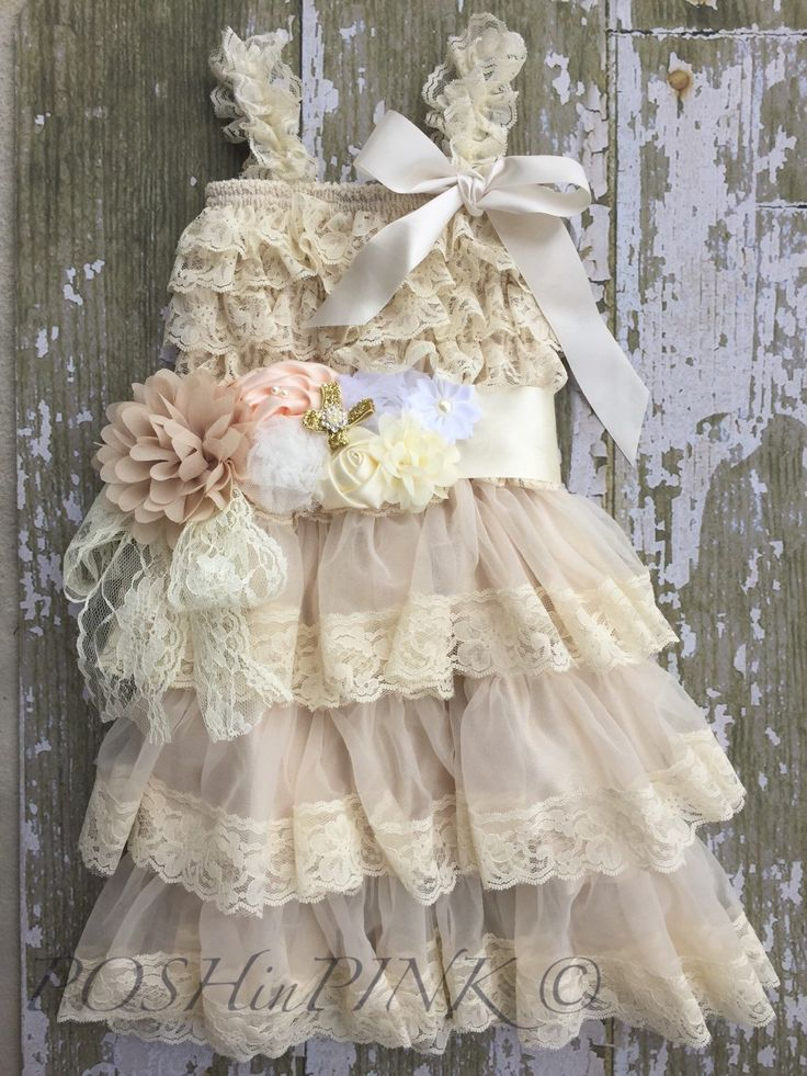 Flower girl dresses lace uk national lottery