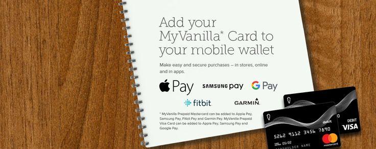 myvanilla reloadable prepaid card  prepaid card cards