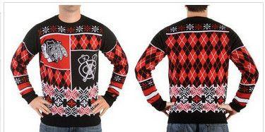Chicago Blackhawks Men's NHL Ugly Sweater