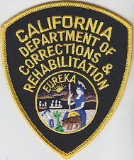 California Department of Corrections & Rehabilitation shoulder patch CA CDCR