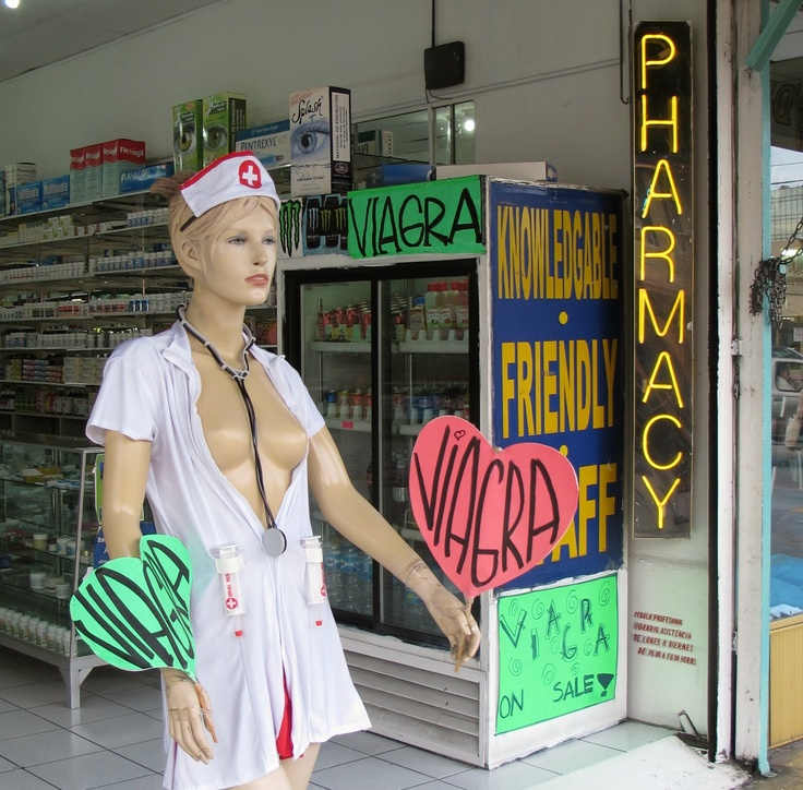 Mexican Pharmacy - always with humor!