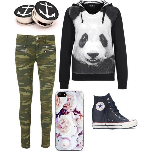 Indie scene outfit