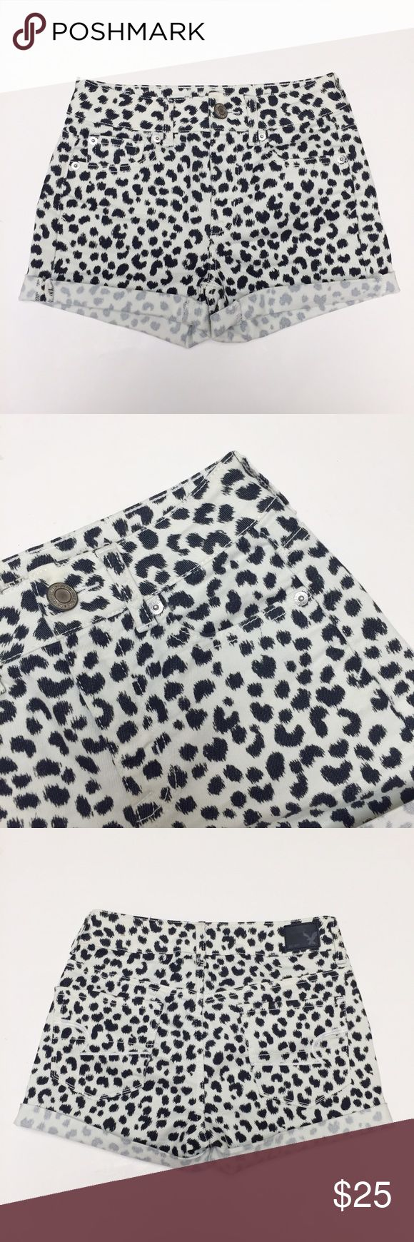 American Eagle - Leopard Print Shorts American Eagle leopard print shorts. Worn once. Excellent condition. 💟 Offers welcome. 🙅🏻 No trades. 🎀 Bundle for discount. American Eagle Outfitters Shorts
