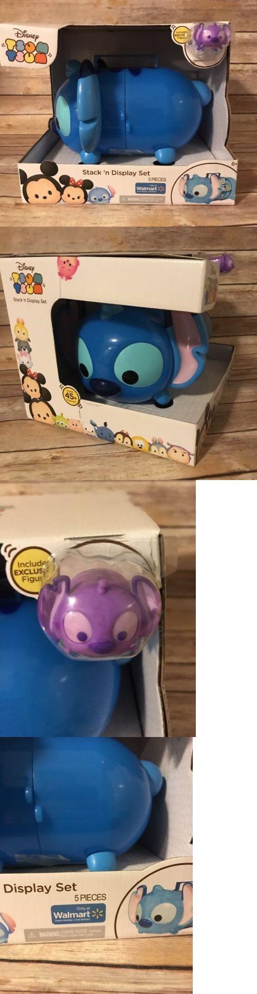 Other Disney Toys 19224: Disney Tsum Tsum Stack N Display Set Stitch Nib Walmart Exclusive Figure 5 Pcs -> BUY IT NOW ONLY: $60 on eBay!