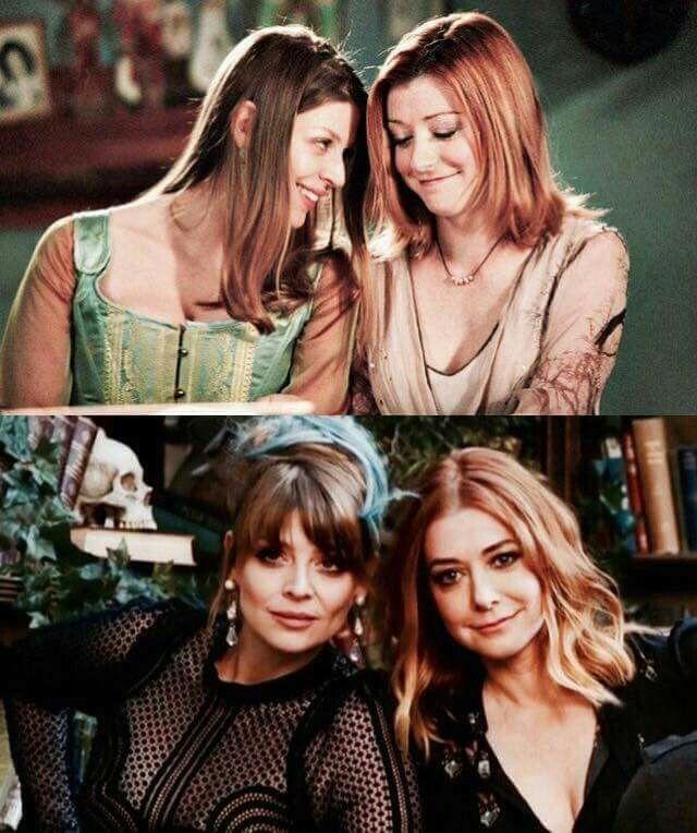 Willow & Tara (Alyson Hannigan & Amber Benson) Best couple❤❤I love them sooooo much❤❤