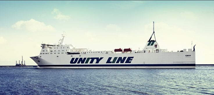 #unityline #ferry #ferries #gryf #sea #swinoujscie #ystad #poland #sweden #färjor