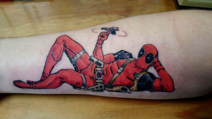 Tattoo jason doherty deadpooltattoo deadpool for Gilded heart tattoo