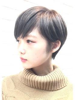 【PHASE/三畑賢人】大人かわいい小顔似合わせるショート 青山