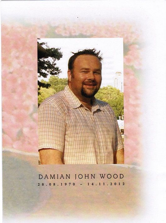 My beautiful friend Damo who died 2 years ago to cancer. I miss him so much.