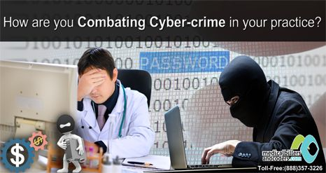 How are you combating cybercrime in your practice?