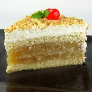 Apfel Sahne Torte (Apple Cream Cake)