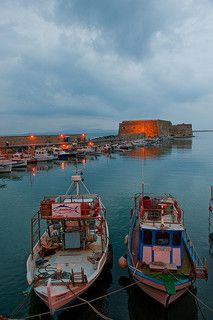 Crete – Heraklion Port  We also love crete as you can see on http://ferienwohnung-kreta.de/ and have some nice photos there!