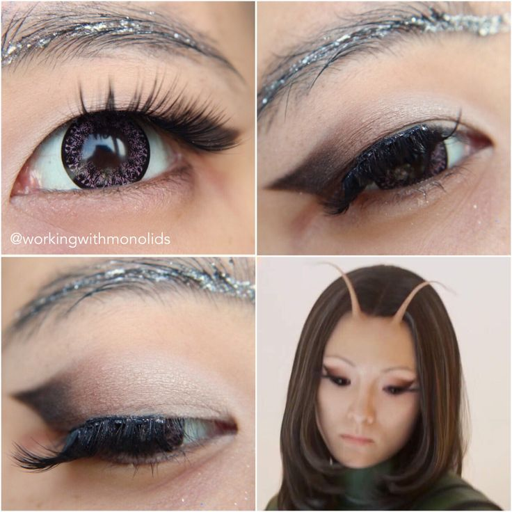 Tutorial for Mantis' eye makeup in Guardians of the Galaxy 2!