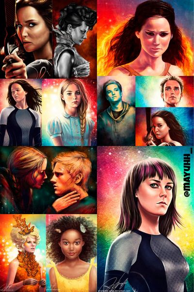 hungergamesexplorer Love this edit! Made by me on We Heart It.