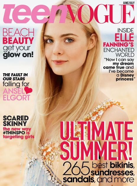 Introducing Our New Cover Star: Elle Fanning! Get the First Look Here | TeenVogue.com