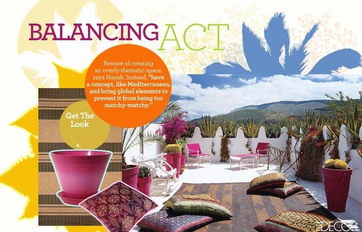 Outdoor Oasis: Get the Look | Gallery | Glo: Moroccan Home, Elle Decor, Morocco Style, Outdoor Room, Roof Terraces, Elledecor, Patios, Rooftops Terraces, Outdoor Spaces