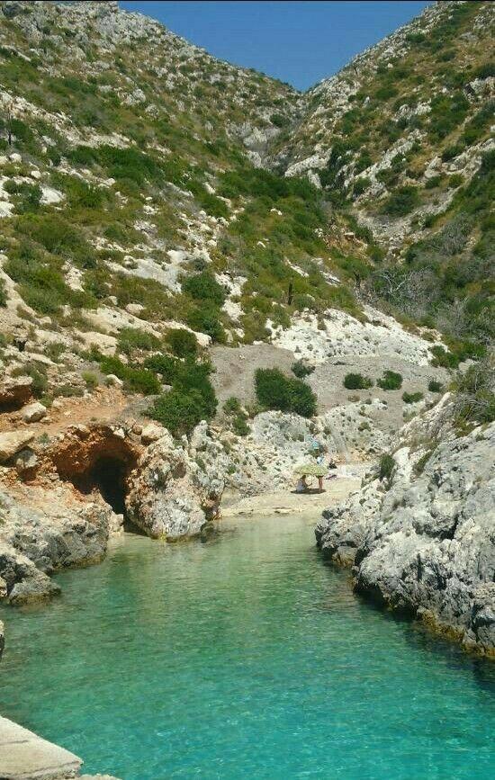 Limniona beach in zante