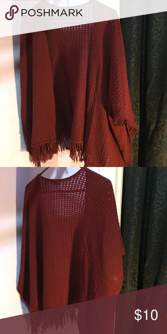 Rue21 Maroon Cardigan Very cute cardigan! Wasn't worn too many times, not really my style anymore! Size isn't anywhere on the tag, but I'd guess it's a medium. Rue21 Other