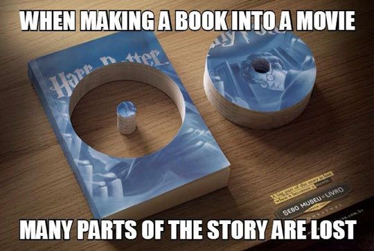 yes but what I wanna know is WHO THE HELL CUT THE BOOK?!?!