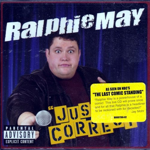 Ralphie May - Just Correct (Comedy Audio CD)