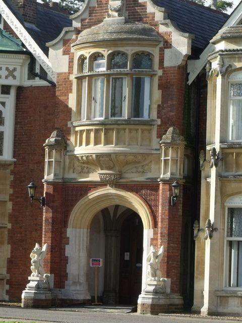 Bletchley Park Mansion - Milton Keynes, England