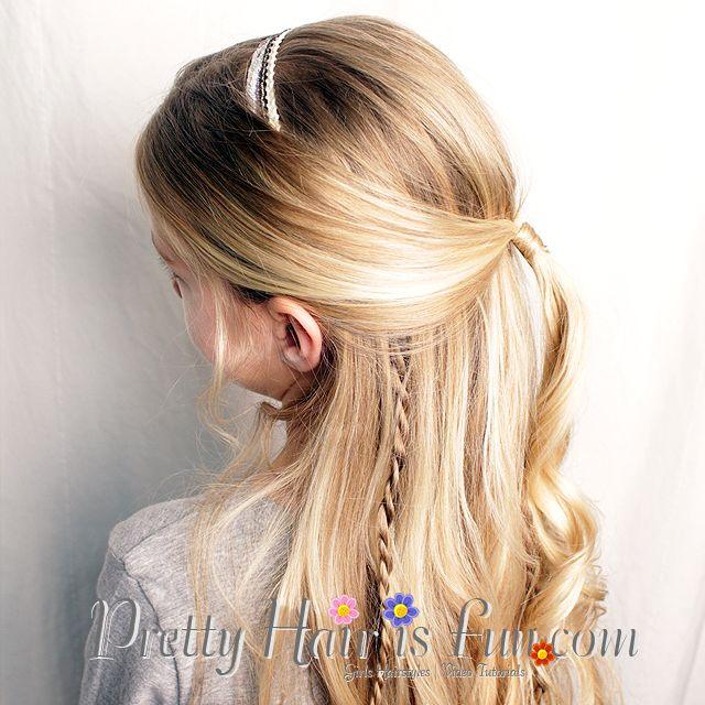Pretty Hair Is Fun Princess Twist Braid Hairstyle Braid Tutorials