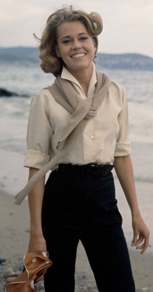 Jane Fonda, 1970s.