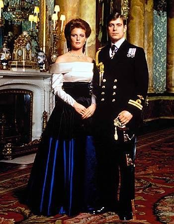 Prince Andrew and Sarah Ferguson: engagement photo