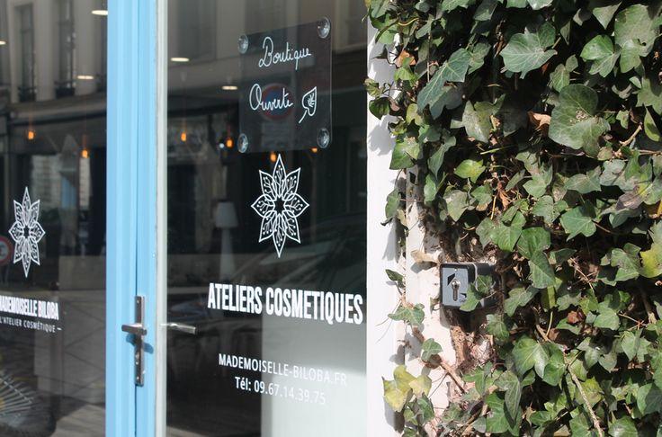 Mademoiselle Biloba Atelier cosmétique naturel fait maison (hand made natural cosmetics) - Vieux-Lille