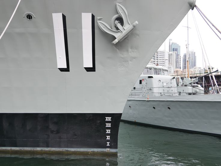 You always need a BIG number on a BIG boat, Sydney Harbour