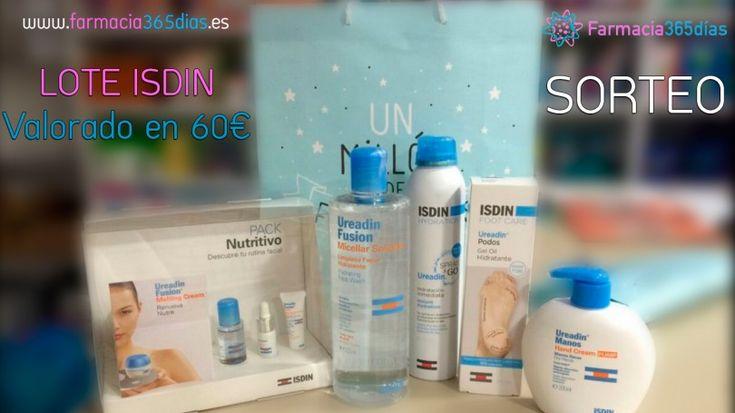 Farmacia365días te invita al sorteo de un lote de productos de ISDIN (valorado en 60€)