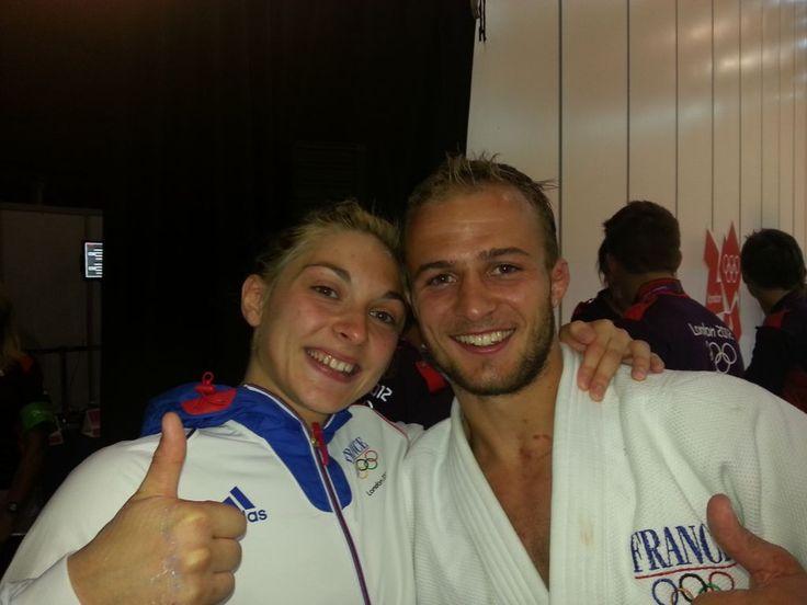 Automne Pavia et Ugo Legrand : les deux judokas bronzé aux Jeux Olympiques - London 2012