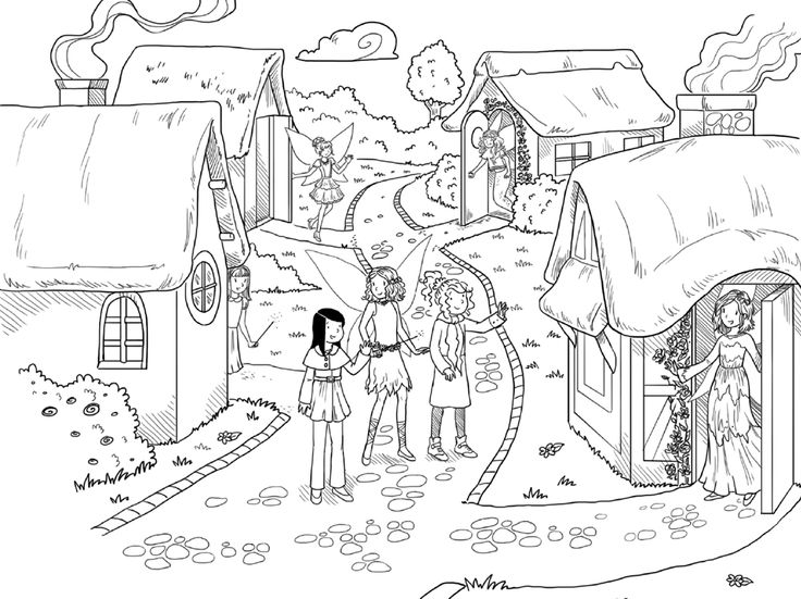 jewel fairies coloring pages - photo#6