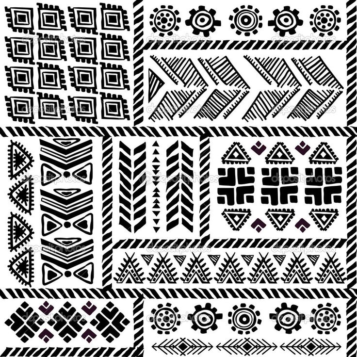 aztec designs line drawing - Google Search   Pyrography ...