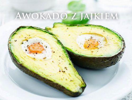 śniadanie Pieczone Awokado z jajkiem - przepis! avocado egg breakfast