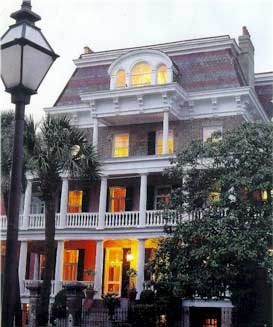 The Battery Carriage House Inn, Charleston, SC.....rumored to be haunted...boo!