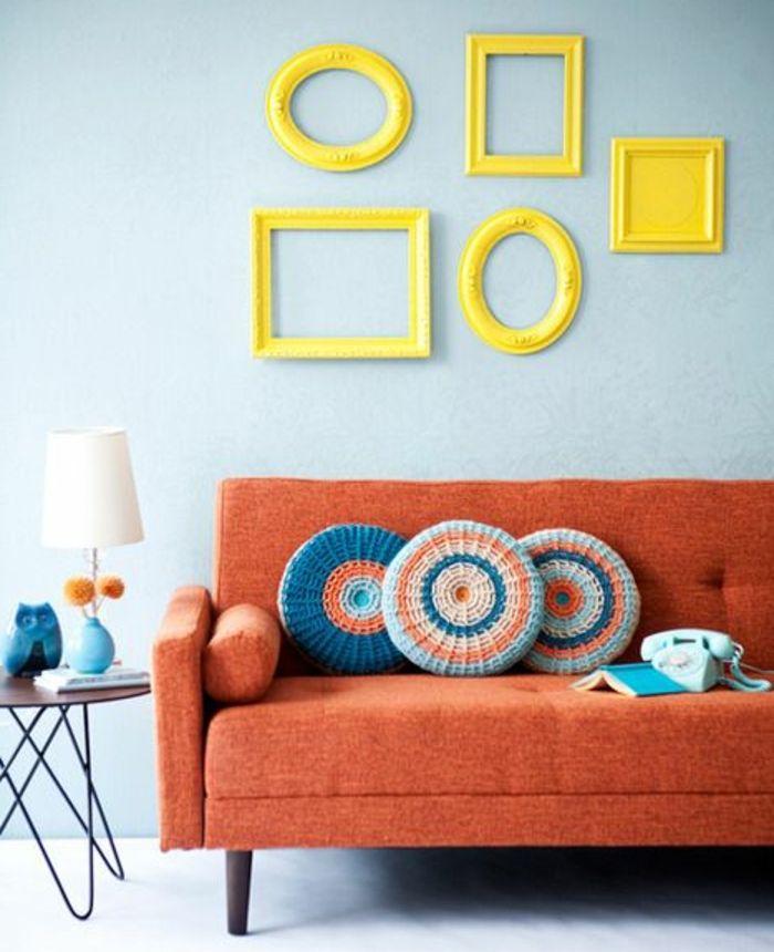 Les 25 meilleures id es concernant lampes jaunes sur for Lampe de table jaune