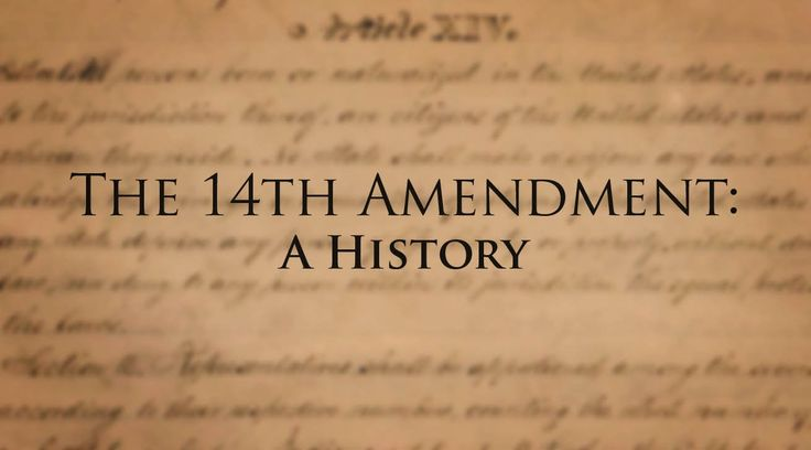 an overview of the fourteenth amendment in the untied states of americas constitution The fourteenth amendment  8th amendment the eighth amendment to the united states constitution is part of  the political culture of the untied states,.