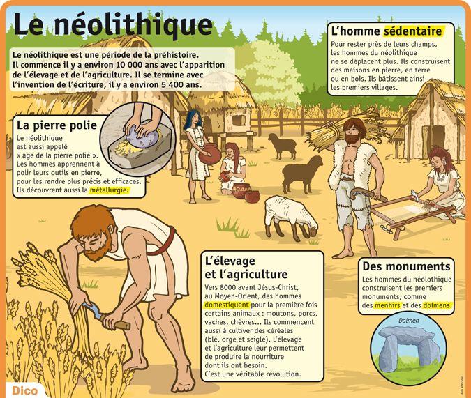Fiche exposés : Le néolithique