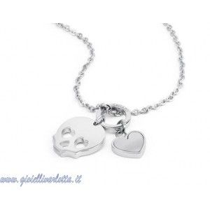 s'agapò collana teschio SHM03 http://www.gioiellivarlotta.it/product.php?id_product=1185