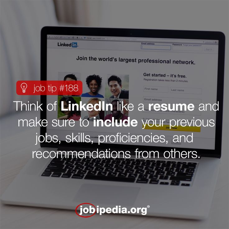 profile in a resume%0A Make sure to include everything relevant to your resume on your LinkedIn  profile