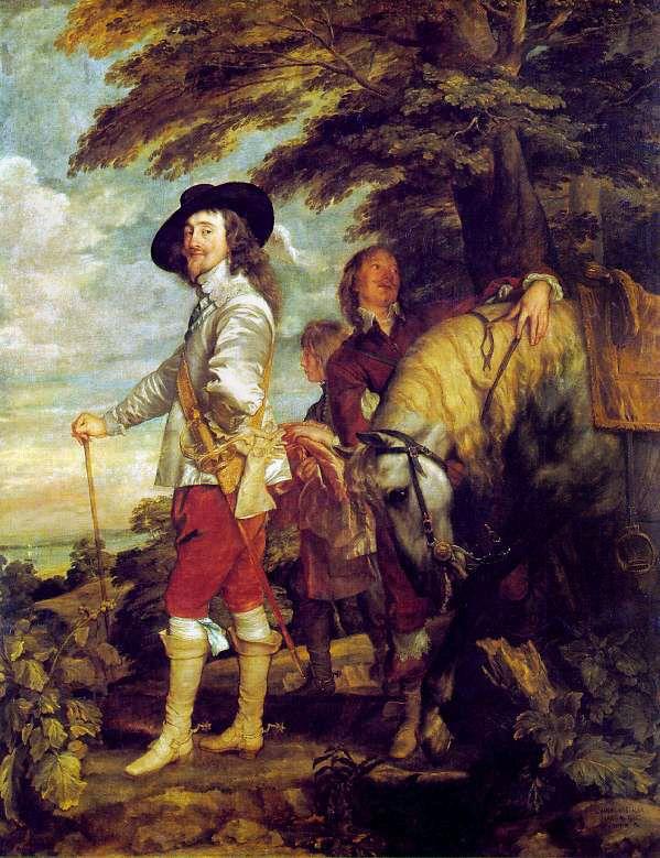 Carlos I desmontado, Van Dyck.