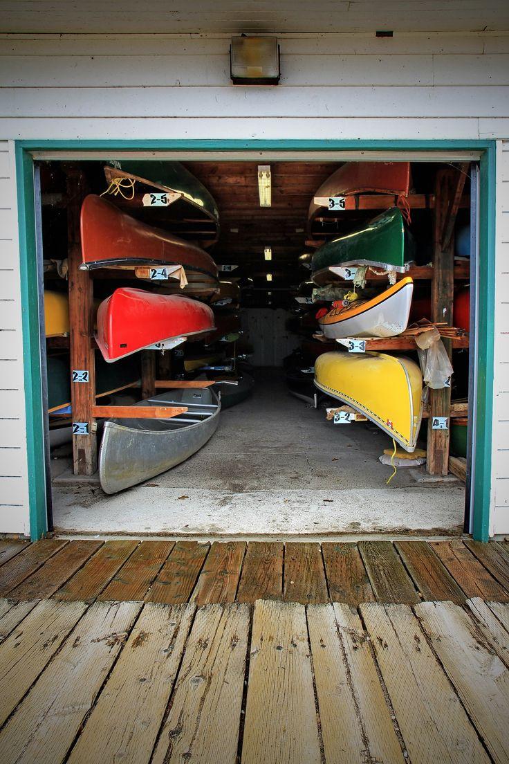 79 best images about canoe storage on pinterest storage for Canoe storage shed