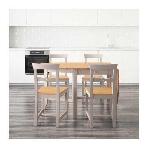 GAMLEBY テーブル&チェア4脚  - IKEA