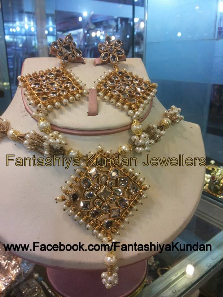 For kundan jewellery in wholesale price then  visit our facebook page www.Facebook.com/Fantashiyakundan