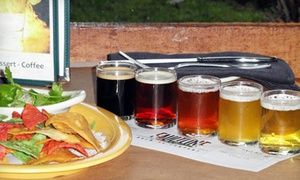 Groupon - $ 13 for Two Flights of Five Beers and One Appetizer at Faultline Brewing Company (Up to $26.50 Value) in Faultline Brewing Company. Groupon deal price: $13